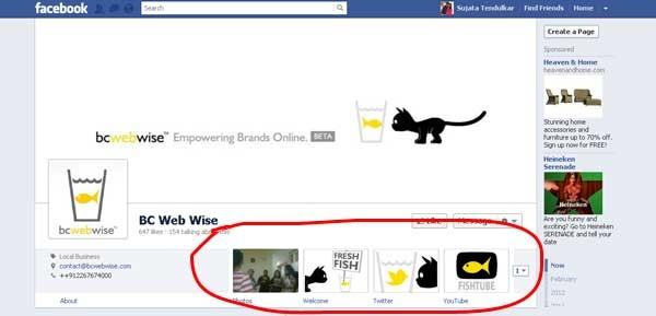bcwebwise brand page tabs