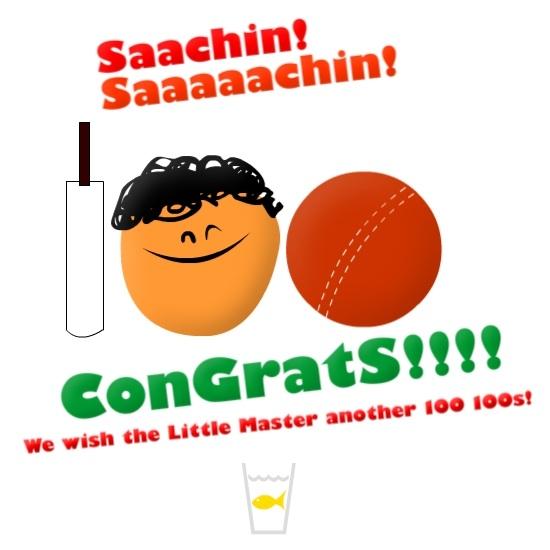 Sachin Tendulkar's 100th ODI 100