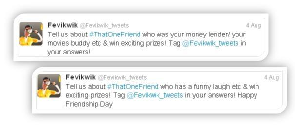 Fevikwik Twitter Campaign