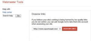 Disavow Links - bcwebwise blog